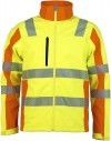 Prevent® Trendline Softshelljacke - Farbe: gelb/orange